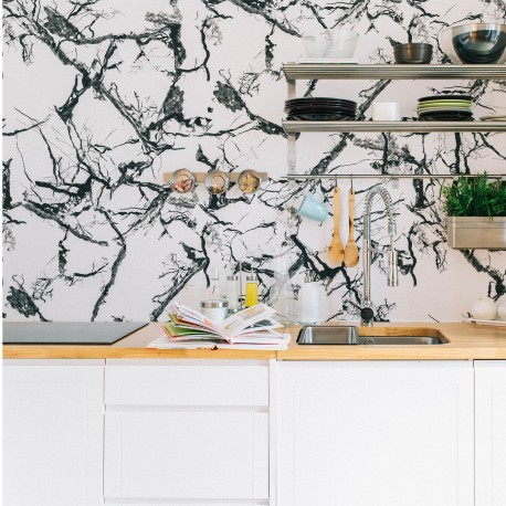 Marble White Wallpaper