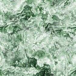Star Collision Marble Green Wallpaper
