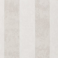 Enderby Silver & Cream Striped Wallpaper
