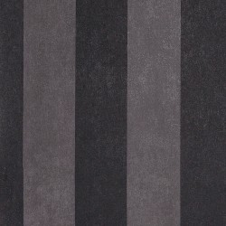 Enderby Black & Dark Grey Striped Wallpaper