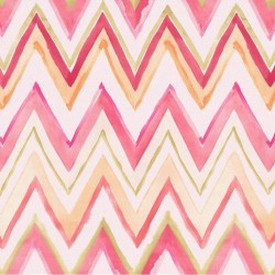 Tepi Blue and Purple Zig Zag Wallpaper