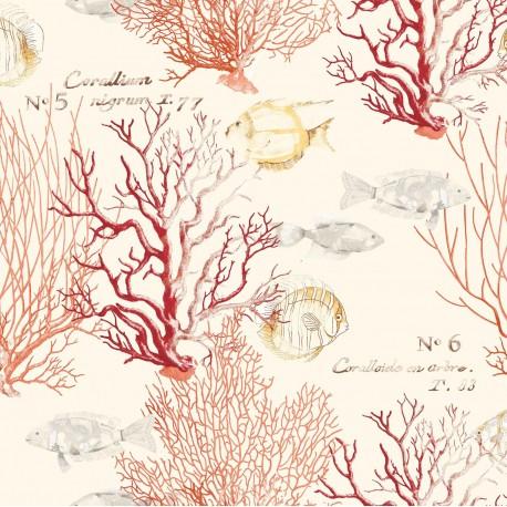Coral Fish Blue Wallpaper