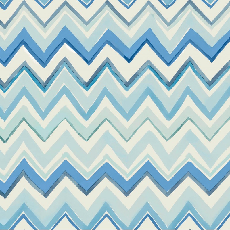 zig zag multicoloured blue wallpaper zig zag 41 w03