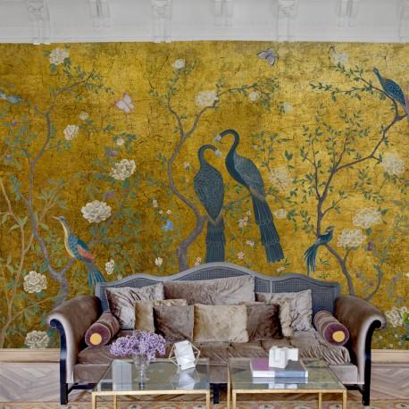 New Edo Gold Wall Mural