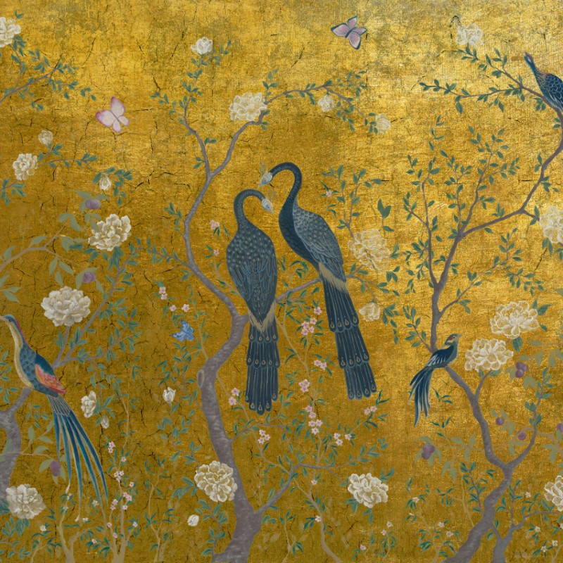 Edo Gold Wall Mural M1001 1