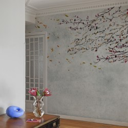 Eolia Spring Blue Wall Mural