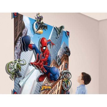 Walltastic Spiderman 3D Pop Out Wall Art