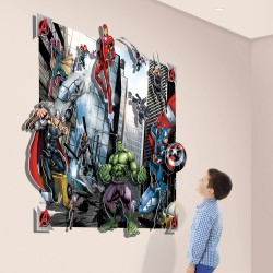 Walltastic Avengers 3D Pop Out Wall Art