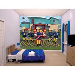 Walltastic Fireman Sam Mural