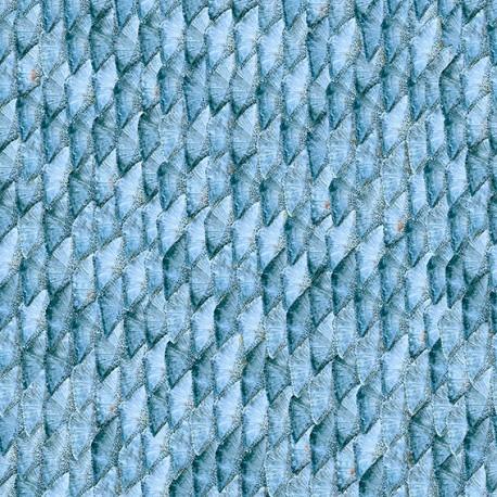Mermaid Tail Blue Wallpaper