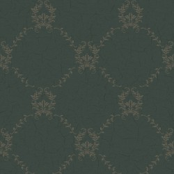 Hugo Dark Blue Trellis Wallpaper