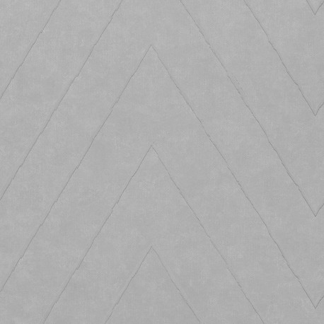 Camus Conrete Grey Zig Zag Wallpaper