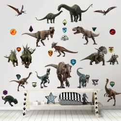 Walltastic Jurassic World Fallen Kingdom Stickers
