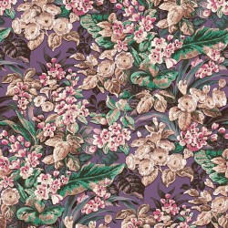 Beaux Arts 2 Floral Black