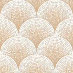 Beaux Arts 2 Rose Gold Mosaic Tile