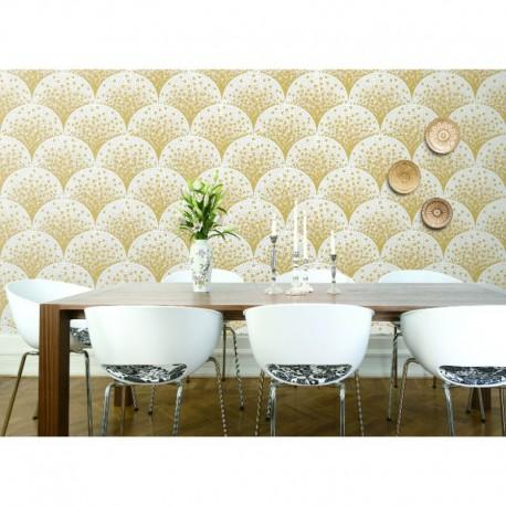 Beaux Arts 2 Gold Mosaic Tile