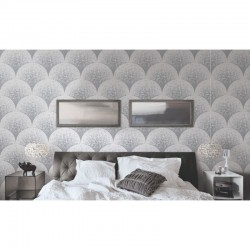 Beaux Arts 2 Grey Mosaic Tile