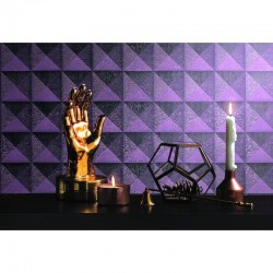 Beaux Arts 2 Diamond 3D Effect Purple