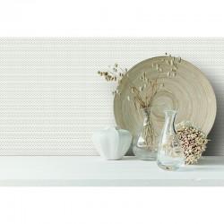 Beaux Arts 2 White & Silver Weave