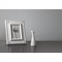 Verde 2 Glass Effect Plain Silver