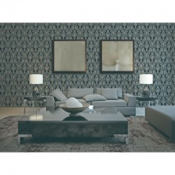 Verde 2 Traditional Damask Green