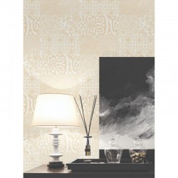 Verde 2 Traditional Damask Silver