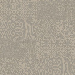 Verde 2 Patterned Tile Silver