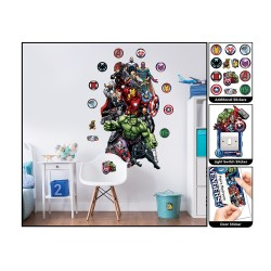 Marvel's Avengers Large Character Wall Sticker