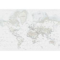 Mundi Blue Wall Map