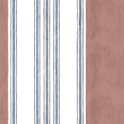 Raya Circuela Red & White Stripe