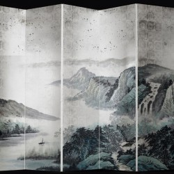 Toppu Silver Wall Mural