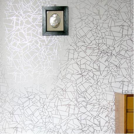 Angles White Wallpaper