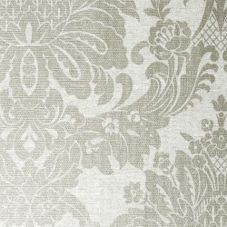 Vogue Ivory White Damask