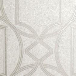 Deco Geo Ivory White Trellis