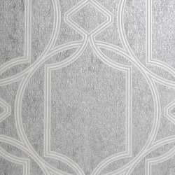 Deco Geo Soft Grey Trellis