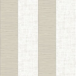 Alfred Ivory White Stripe
