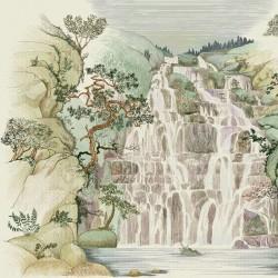 Fallingwater Winter Wall Mural