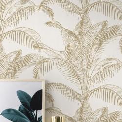 Palm Leaves White