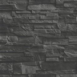 Slate Brick Wall