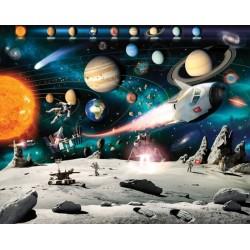 Walltastic Space Adventure Mural