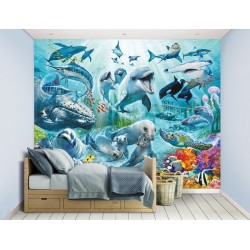 Walltastic Under the Sea Mural