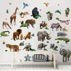 Baby Jungle Adventure Room Décor Kit