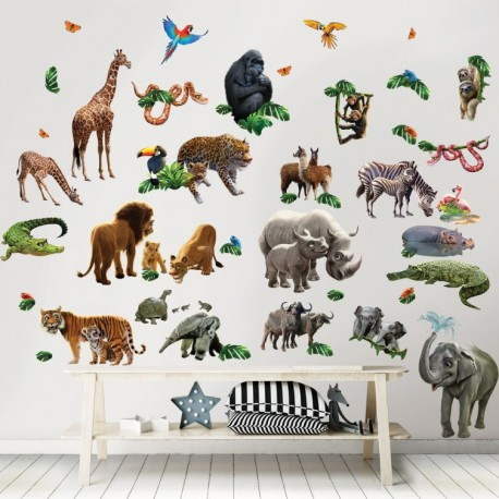 Baby Jungle Adventure Room Décor Kit