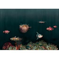 Deep Ocean Mediterranean Wall Mural