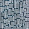 Little Trees Petroleum Blue Wallpaper