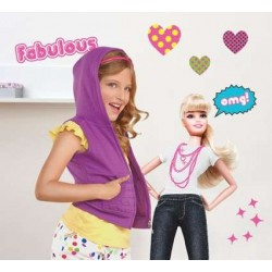 Barbie - Fab Life Wall Stickers