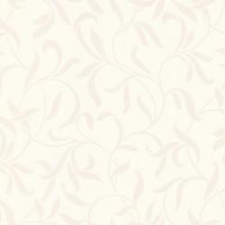 Chic White and Cream Wallpaper