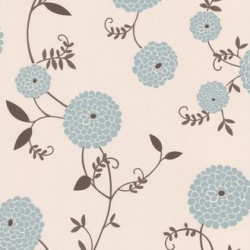 Mae Duck Egg Blue Wallpaper