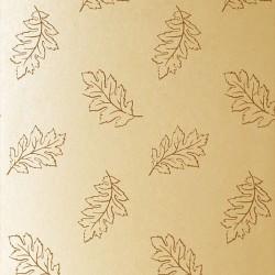 Etched Leaf Wallpaper