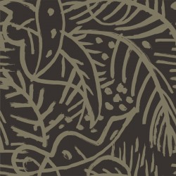 Selva de Mar Brown Wallpaper